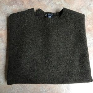 J.Crew Lambs wool crew neck sweater